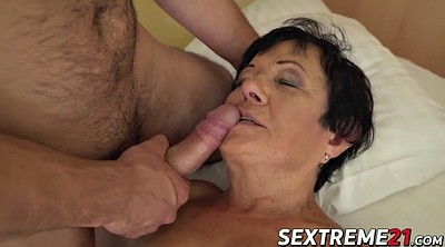 Big granny, Mature solo