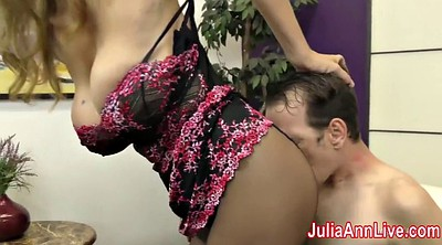 Julia ann, Young, Feet slave