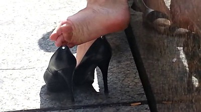 Foot, Sexy feet, High heels, Candid feet, Candid, Sexy soles