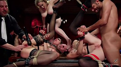 Doggy, Group sex, Ocean, Group bdsm, Black sex, Anal fist