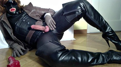 Handjob, Leather
