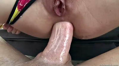 Pussy gaping, Chubby anal
