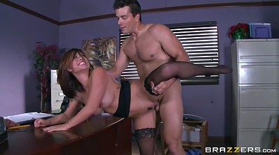 Boss, Angelina, Office sex, Eva