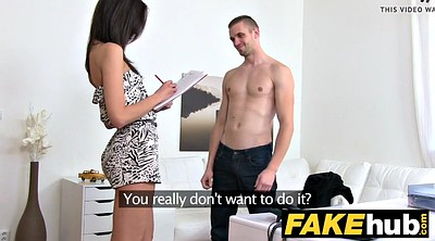 Czech, Agent, Czech casting, Female agent, Cum covered, Casting czech
