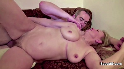 Cash, Mature casting, Hairy mom, First casting