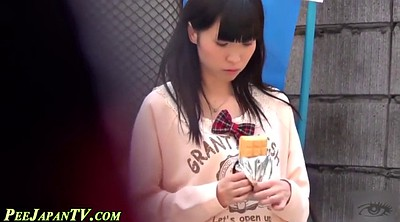 Japanese cute, Spying, Japanese spy, Public pee, Asian public