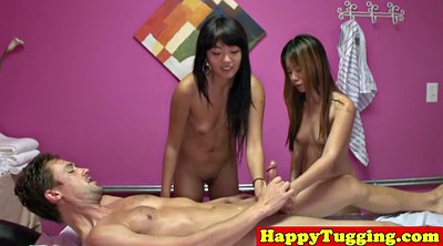 Masseuse, Asian handjob