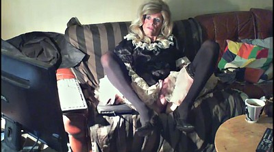 Crossdresser, Crossdress, Gay pantyhose, Dressed