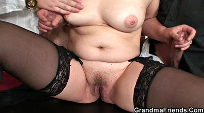 Young wife, Mature strip
