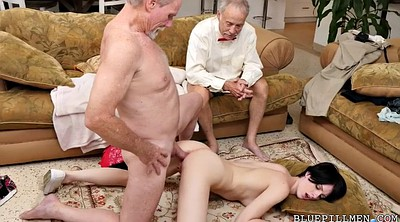Swallow, Old anal, Tight, Hair, Older, Hairy anal