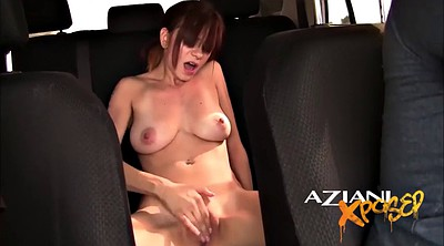 Naked, Stranger, Car masturbation