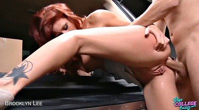 Car, Skirt, Upskirt fuck