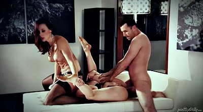 Chanel preston, Strapon, Threesome femdom, Spanking ass, Spanking big ass, Penny pax