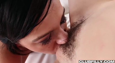 Riley nixon, Hairy lesbians, Pussy orgasms, Licking hairy pussy