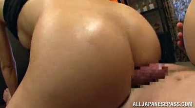 Oil massage, Asian milf