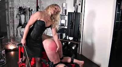 Slave, Latex, Caning