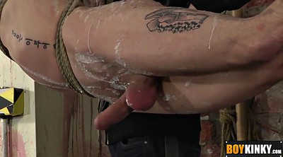 Spanking, Tortured, Masturbate, Tied handjob, Spanked and fingered