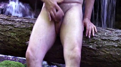 Outdoor masturbation, Cumming