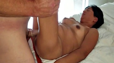 Asian milf, Strangers, Asian creampie