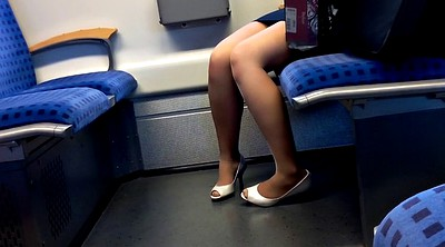 Train, Toes, Nylon foot, Leggings