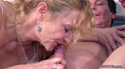 Couple, German milf