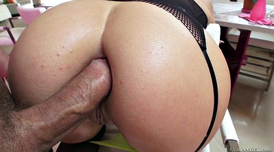 Anal gaping, Wide