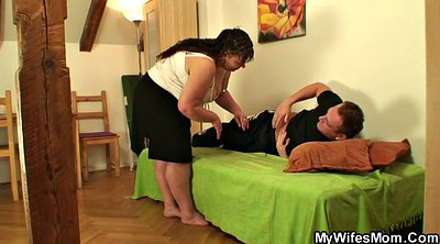Granny mature, Young chubby, Chubby wife