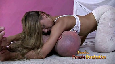Smother, Dominatrix, White stockings, Smothering