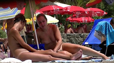 Nudist, Hot girl