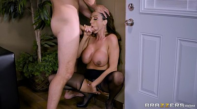 Ariella ferrera, Standing, Pantyhose mom, Standing fuck, Stand fuck, Office pantyhose