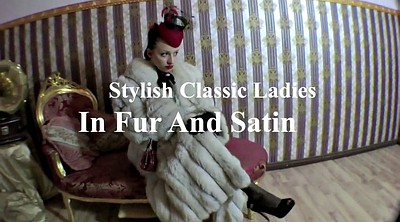 Hairy, Satin, Classic, Vintage lesbian, Fur, Hairy vintage