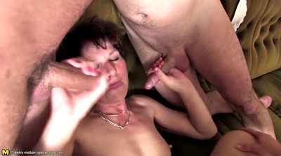 Sex mom, Mom old, Gangbang mom, Gangbang granny