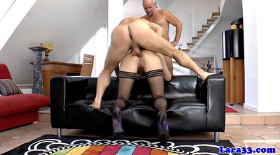 Stockings, Stocking anal, Stocking milf, Anal milf hd
