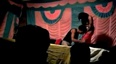 Indian, Stage, Nude dance, Bhabhi, On stage, Nude in public