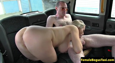 Car, Taxi, Big milf