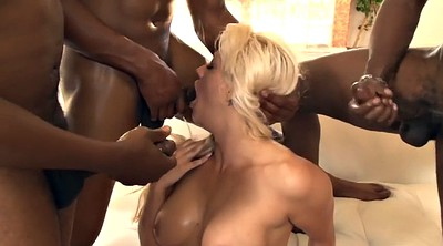 Lingerie, Double anal, Ebony threesome, Anal group
