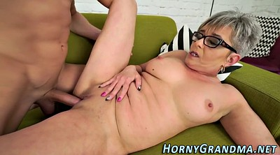 Facial, Grandma, Mature bj