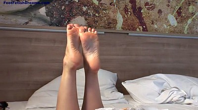 Footjob, Erotic, Mature foot, Mature blonde
