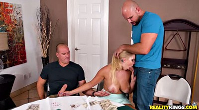 Blonde dp, Poker, Dp big tits, Coeds