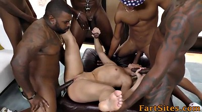 Interracial group, Group anal