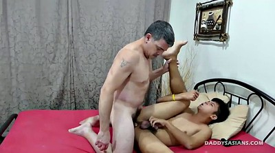 Old asian, Young boy, Old dad, Old cock, Ass fucking, Asian daddy