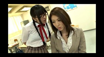 Japanese teacher, Japanese bdsm, Japanese student, Glasses, Asian bdsm, Lesbian japanese