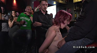Bdsm, Bar, In public