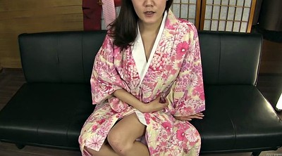 Asian masturbate, Kimono, Japanese office