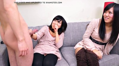 Surprise, Japanese amateur, Subtitle, Japanese cfnm, Asian cfnm