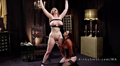 Submission, Submissive, Lesbian bondage, Strap, Strap-on, Strap on lesbian
