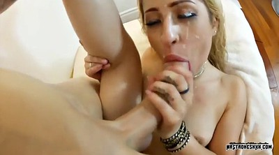 Creampie, Deep throat, Double, Goldie, Double anal, Solo big tits