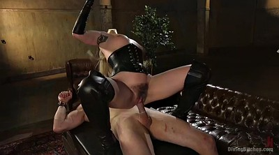 Slave, Boy, Blonde handjob, Mature hairy