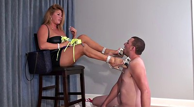 Cuckold, Foot slave, Cuckold slave, Mature feet, Male slave, Mature foot