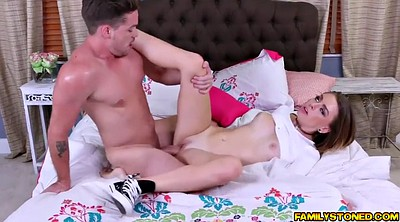 Throat fuck, Fucked hard, Blonde blowjob